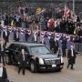 Лимузин Трампа не пролез в ворота королевского дворца в Бельгии